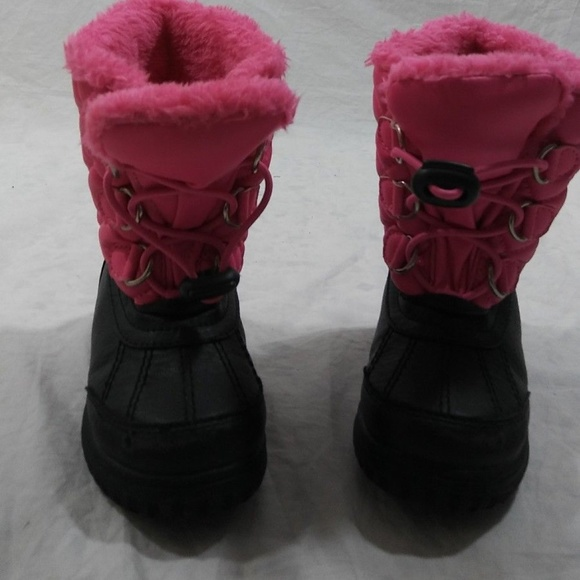 384c5b1bb0ee0 Totes Toddler Girls Size 7 Winter Boots